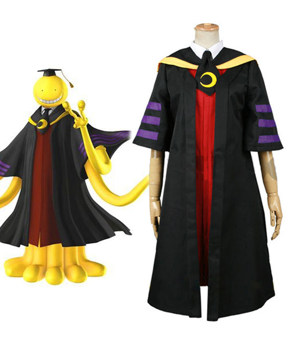 Assassination Classroom Class 3-E Teacher Koro-sensei Cosplay Costume