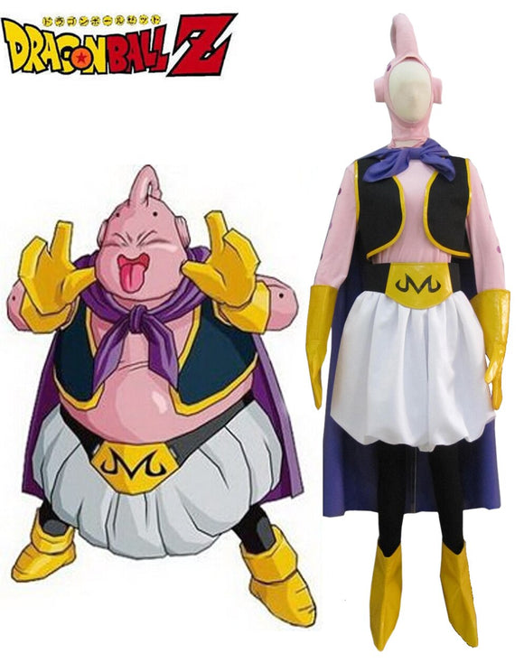 Dragon BallZ Majin Boo the Fat Boo Cosplay Costume Custom Made Full Set