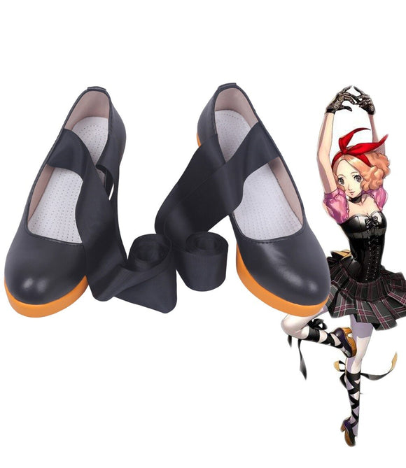 Persona 5 Haru Okumura Cosplay Shoes Boots Custom Made