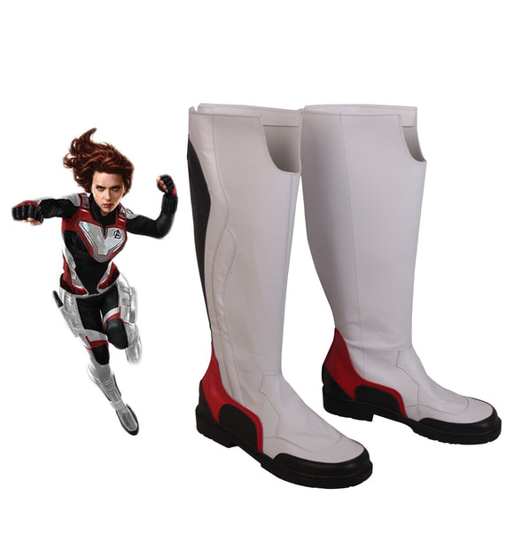 Avengers Endgame Black Widow Quantum Realm Cosplay Boots Shoes Halloween Carnival Party Cosplay Costume Accessory
