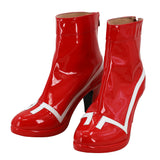 Darling in the Franxx Zero Two Code 002 Cosplay Boots High Heel Red Shoes Custom Made