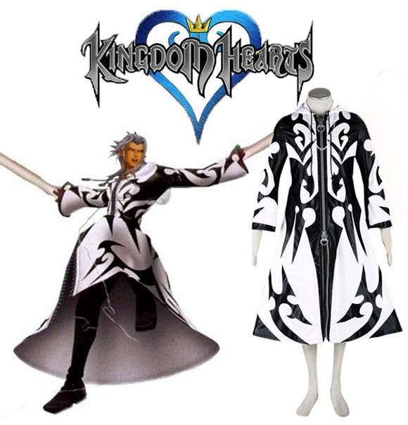 Kingdom Hearts The Superior of the In-Between Xemnas Cosplay Costume
