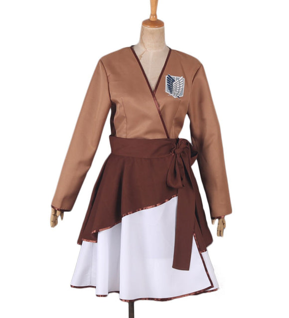 Attack on Titan The Recon Corps Wings of Freedom Dress Cosplay Costume