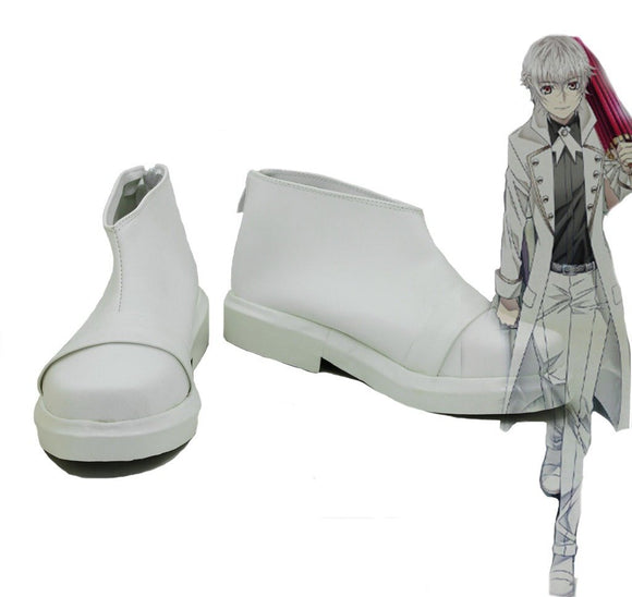 K Return of Kings Isana Yashiro Cosplay Boots White Shoes Custom Made