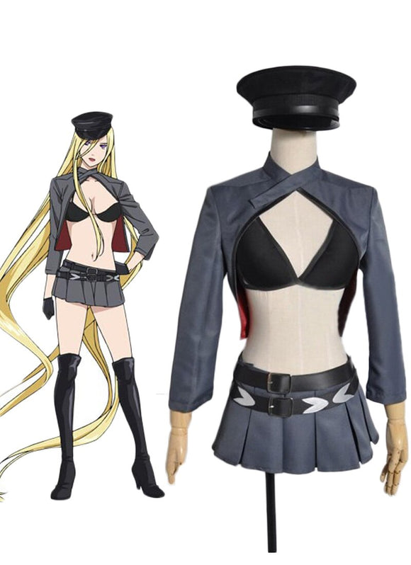 Noragami Bishamonten Cosplay Costume Full Set Custom Made