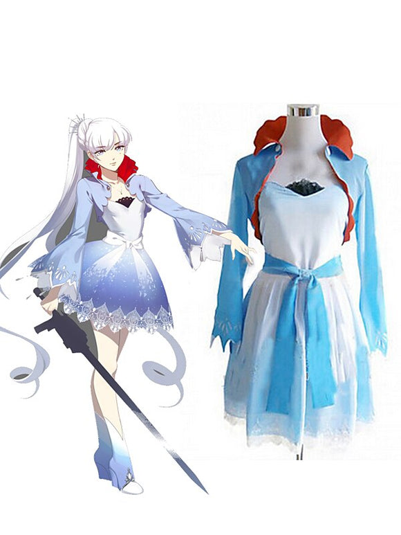 RWBY Weiss Schnee Cosplay Costume Custom Made