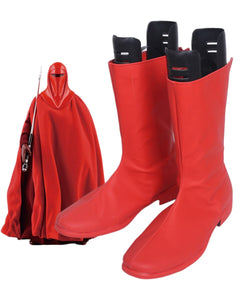 Star Wars Emperor's Royal Guard Cosplay Boots Red Shoes Custom Made Any Size