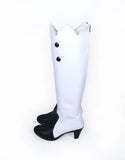Fate Grand Order FGO Marie Antoinette Cosplay Boots White Shoes Custom Made