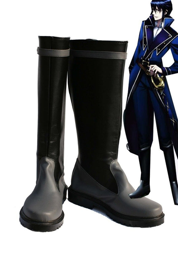K Return of Kings Munakata Reisi Cosplay Boots Leather Shoes Custom Made