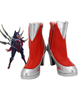 League of Legends LOL The Blade Dancer Irelia Cosplay Boots High Heel Shoes Custom Made