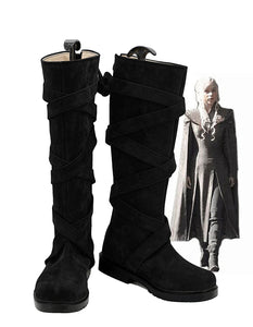 Game of Thrones 7 Daenerys Targaryen Cosplay Boots Black Shoes Custom Made
