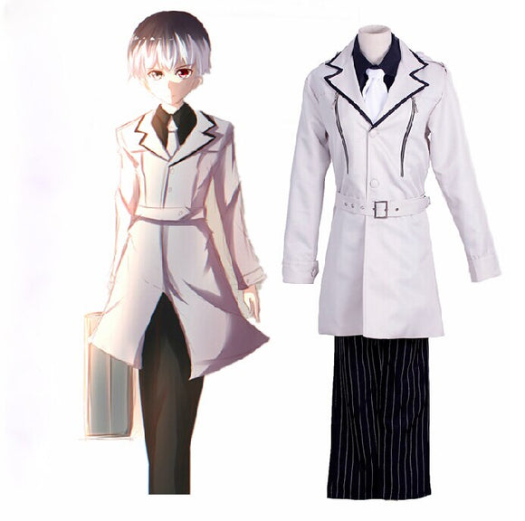 Tokyo Ghoul Haise Sasaki Suit Cosplay Costume