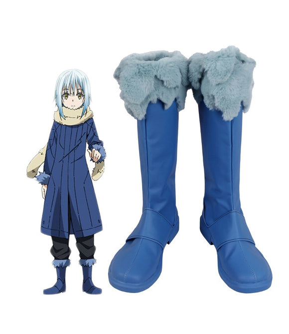 That Time I Got Reincarnated as a Slime Rimuru Tempest Cosplay Boots Shoes Tensei Shitara Slime Datta Ken Rimuru Shoes Custom Made