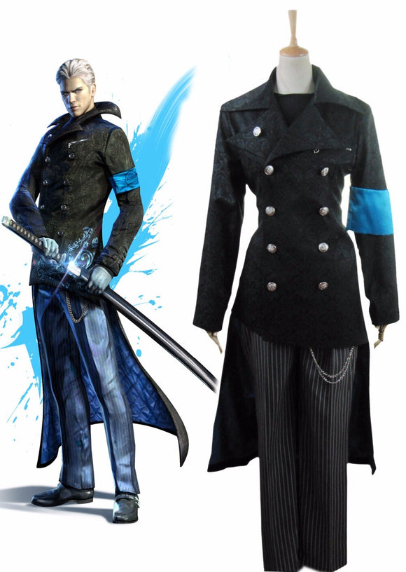 Devil May Cry5 Youth Vergil Cosplay Costume