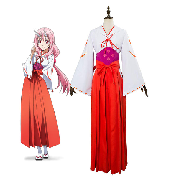 That Time I Got Reincarnated as a Slime Shuna Cosplay Costume Tensei Shitara Slime Datta Ken Shuna Dress Cosplay Custom Made