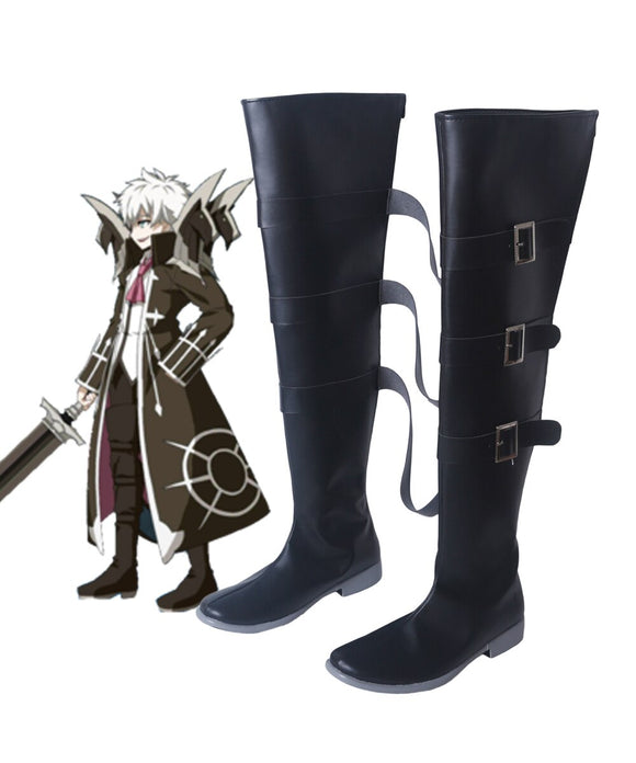FGO Fate Grand Order Charles Henri Sanson Cosplay Boots Black Shoes Custom Made