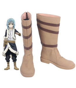 Rimuru Tempest Cosplay Boots Brown Shoes That Time I Got Reincarnated As A Slime Rimuru Boots Cosplay Custom Made