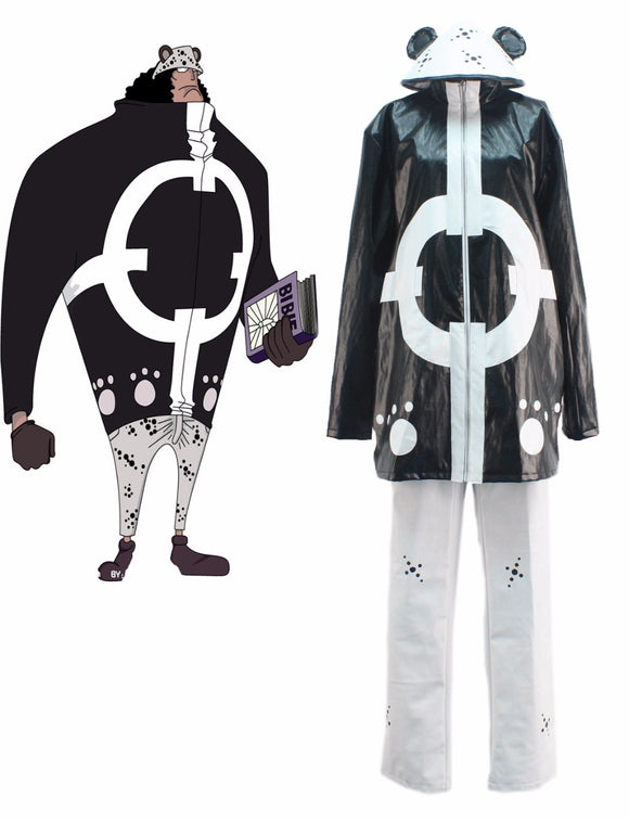 One piece Seven Warlords of the Sea Bartholemew Kuma The Tyrant Cosplay Costume