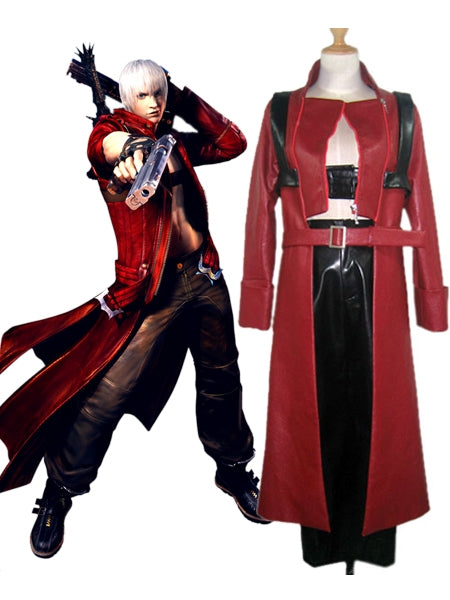 Devil May Cry 3 Dante Cosplay Costume Custom Made Full Set