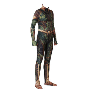 3D Printing DC Aquaman Bodysuit Cosplay Costume Superhero Arthur Curry Orin Zentai Jumpsuits Halloween Costumes for Men