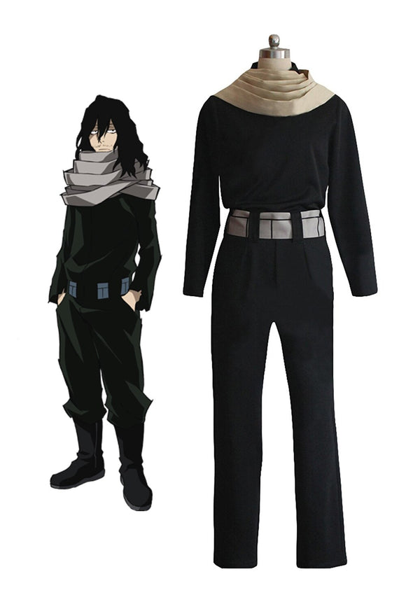 My Hero Academia Eraserhead Shota Aizawa Cosplay Costume Boku No Hero Academia Aizawa Shota Cosplay