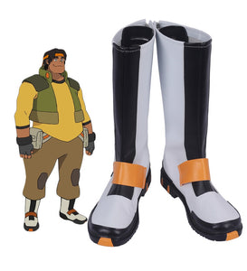 Voltron: Defender of the Universe Hunk Cosplay Boots Leather Shoes Custom Made