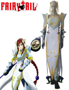 Fairy Tail Erza Scarlet Lightning Empress Armor Cosplay Costume