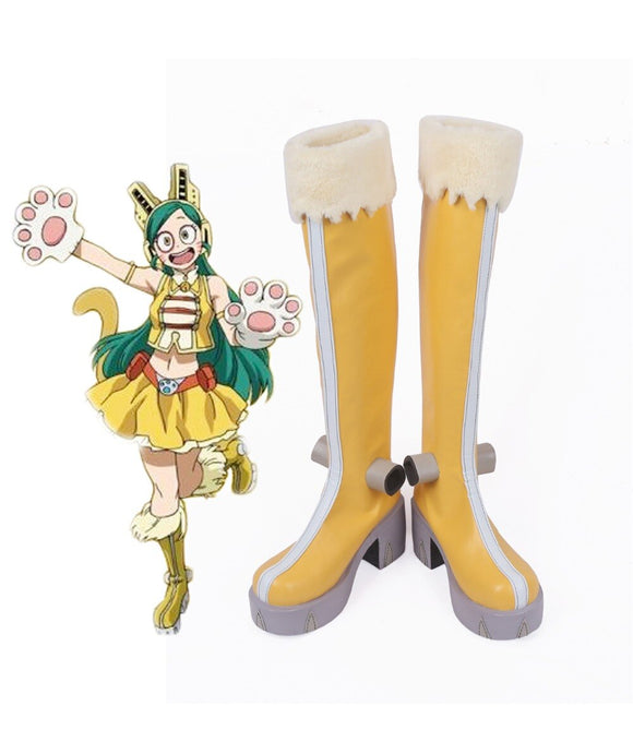 My Hero Academia Tomoko Shiretoko Cosplay Boots Boku no Hero Academia Shiretoko Tomoko Cosplay Shoes Custom Made