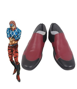 JoJo's Bizarre Adventure Guido Mista Cosplay Boots Flat Shoes Custom Made