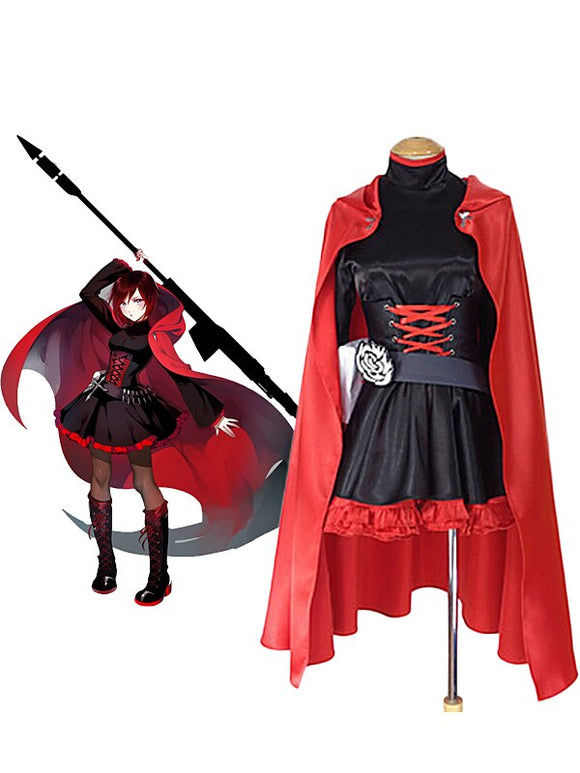 RWBY Crescent Rose Cosplay Costume Custom Made