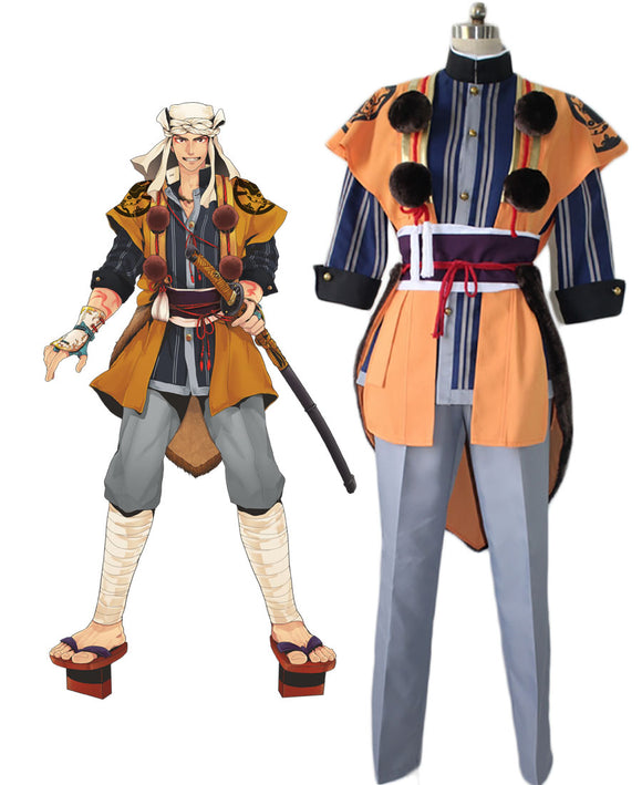 Touken Ranbu Yamabushi Kunihiro Casual Clothing Cosplay Costume Custom Made