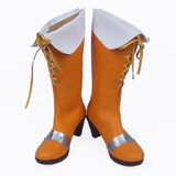 The Seven Deadly Sins Serpent's Sin of Envy Diane Cosplay Boots Orange Shoes Custom Made