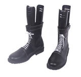 Assassination Classroom Shiota Nagisa Cosplay Boots Shoes Black Custom Made