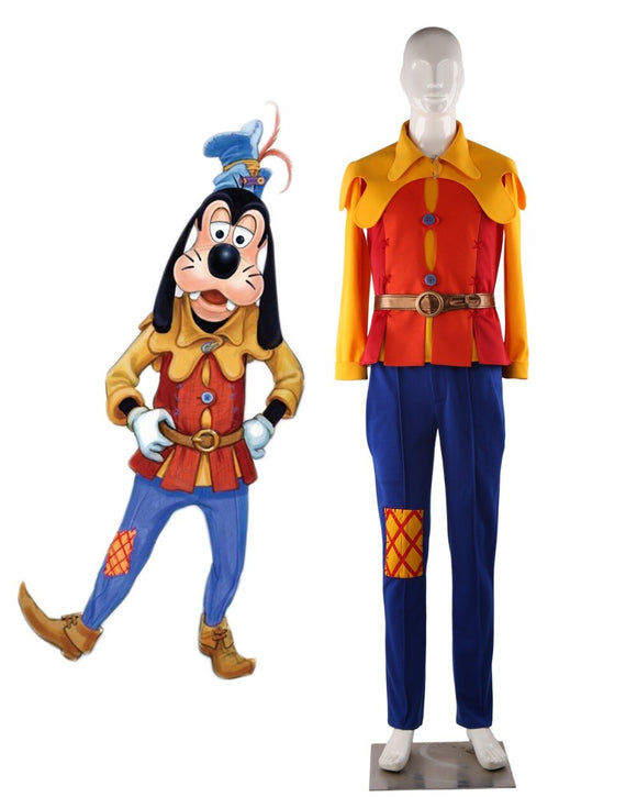 Cartoon Goofy Dog and Pluto Dog Cosplay Costume Custom Made Any Size