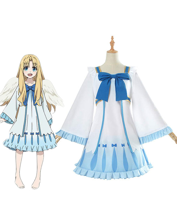 The Rising of the Shield Hero Filo Angel Dress Cosplay Costume Custom Made with Wings