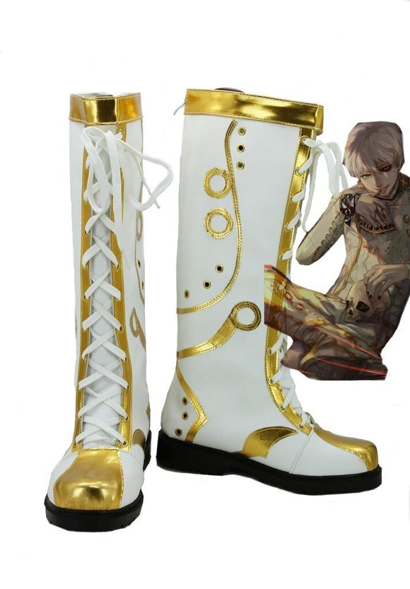 Tokyo Ghoul Ghoul King Cosplay Boots Leather Shoes Custom Made