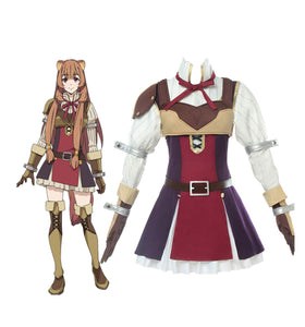 The Rising of the Shield Hero Raphtalia Dress Cosplay Costume Custom Made