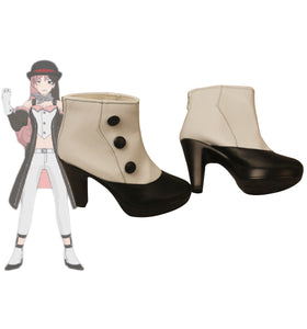 RWBY Neopolitan Neo Cosplay Boots High Heel Shoes Custom Made for Boys and Girls