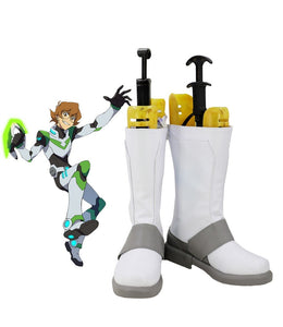Voltron Season 8 Pidge Katie Holt Cosplay Boots White Shoes Custom Made Any Size