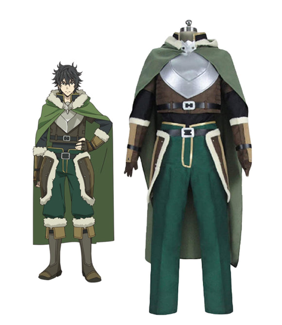 The Rising of the Shield Hero Naofumi Iwatani Cosplay Costume Full Set Custom Made Any Size
