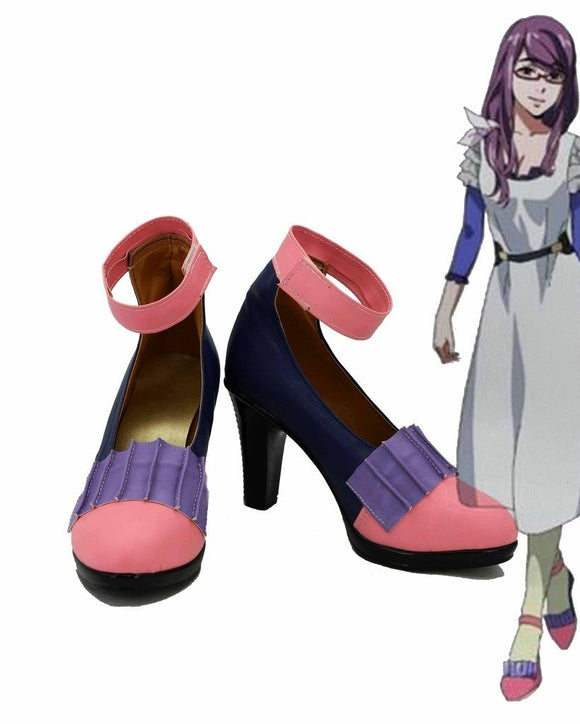 Tokyo Ghoul Rize Kamishiro Cosplay Shoes High Heel Sandals Custom Made