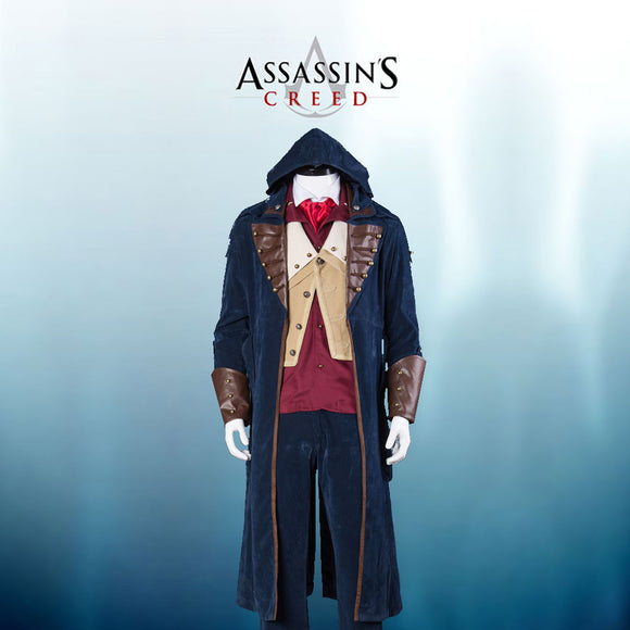 Assassin's Creed 5 Arno Victor Dorian Cosplay Costume Custom Made Full Set