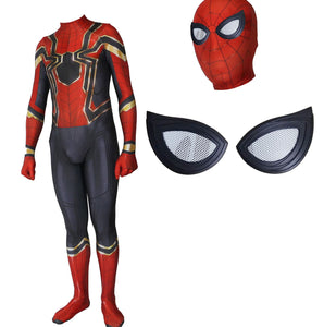 Avengers:Infinity War Peter Parker Spider-Man Jumpsuit Cosplay Costume for Adults and Kids