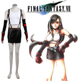 Final Fantasy Tifa Lockhart Cosplay Costume Full Set