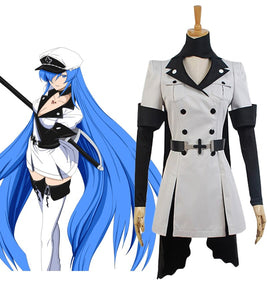 Akame ga Kill Esdeath Cosplay Costume Custom Made Esdeath Cosplay Wig