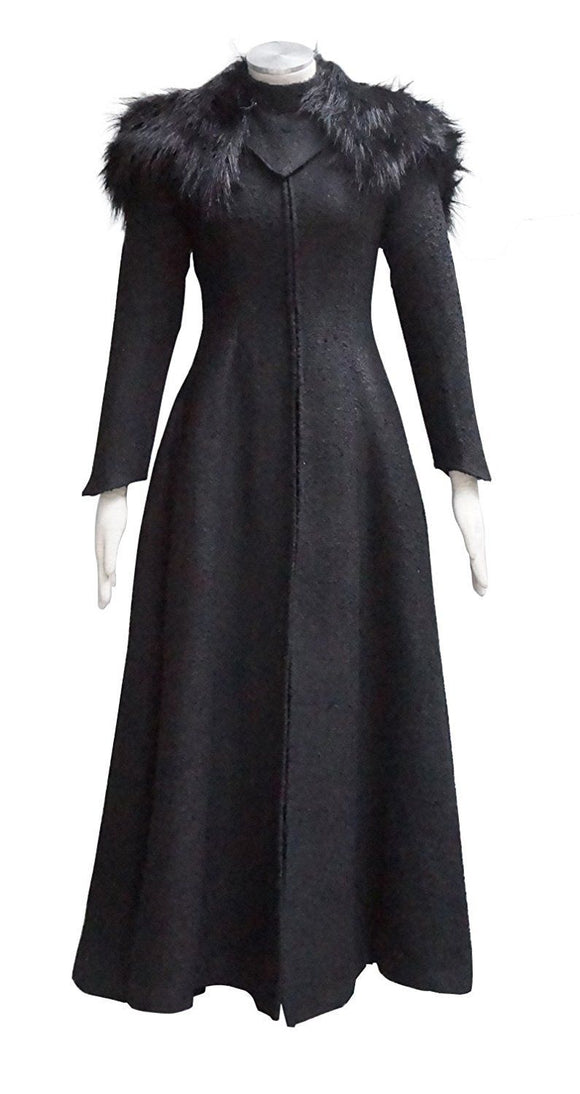 Game of Thrones Queen Cersei Lannister Winter Dress Cosplay Costume Custom Made