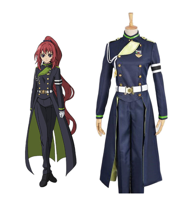 Seraph of the End Mito Jujo Cosplay Costume Custom Made