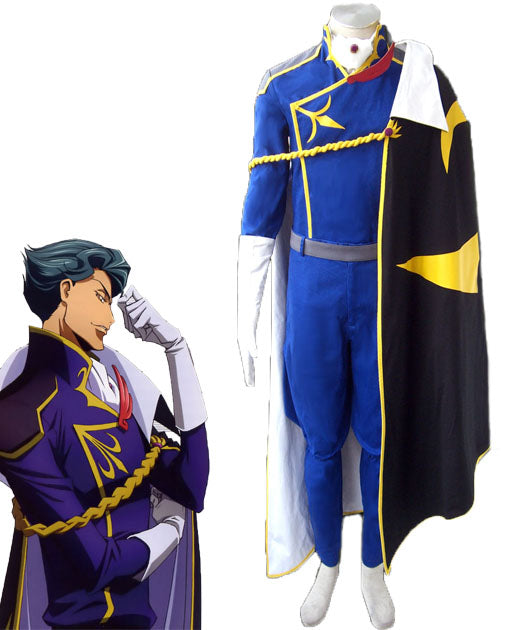 Code Geass Jeremiah Gottwald Cosplay Costume Custom Made