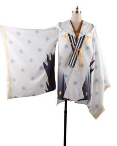 Vocaloid Snow Miku Yuki Witch Kagura ver. Kimono Halloween Carnival Cosplay Costume Custom Made