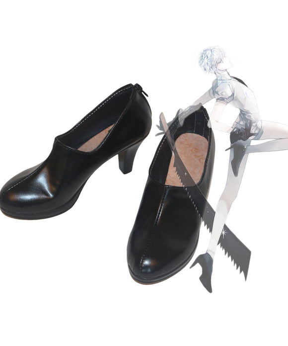 Land of the Lustrous Antarcticite Cosplay Shoes Boots Custom Made